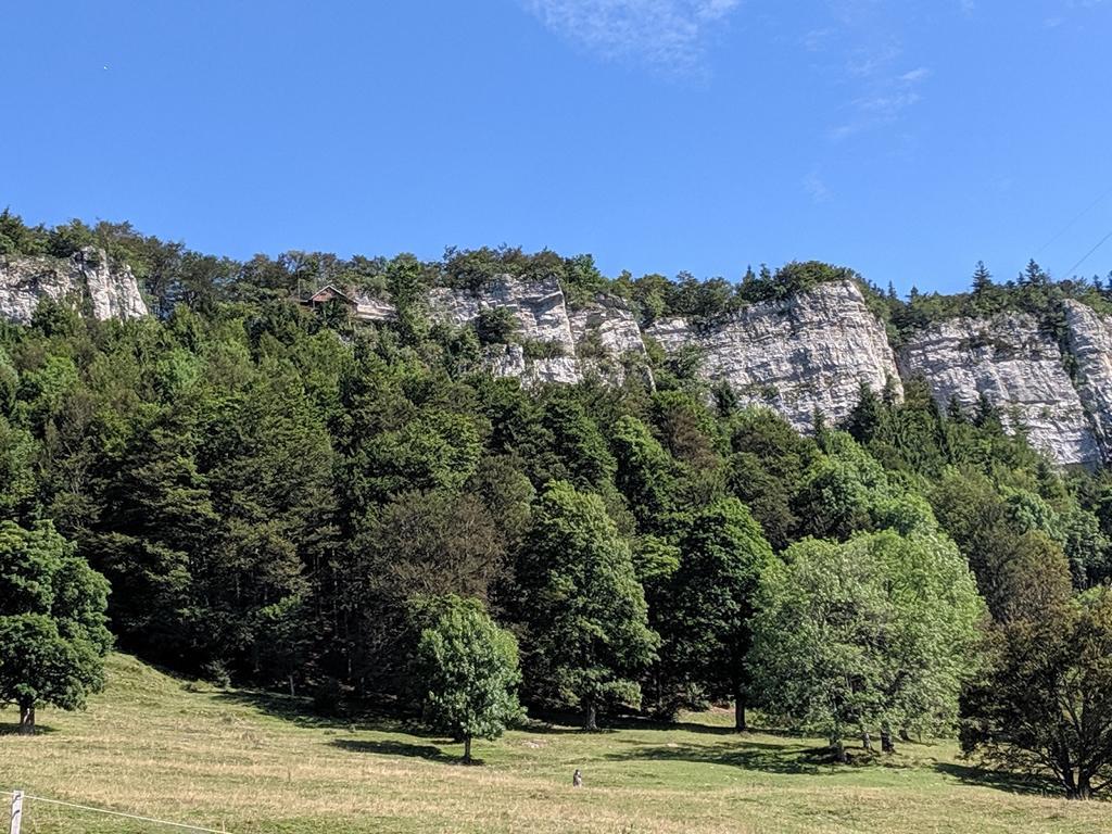 Blick auf Felsenformation