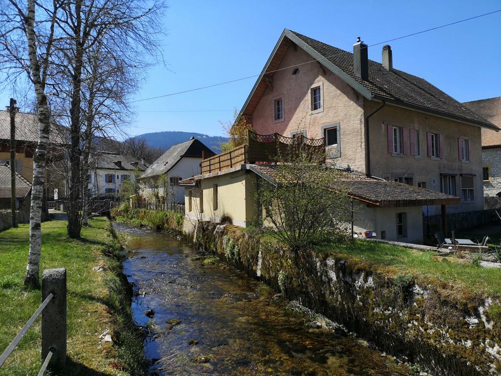 Môtiers im Val-de-Travers